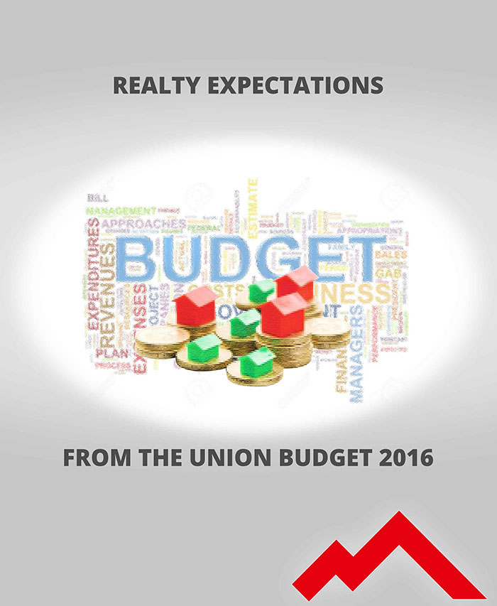 REALTY EXPECTATIONS FROM THE UNION BUDGET 2016