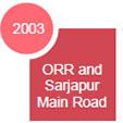 ORR and Sarjapur Main Road