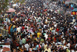 Increasing Population Density