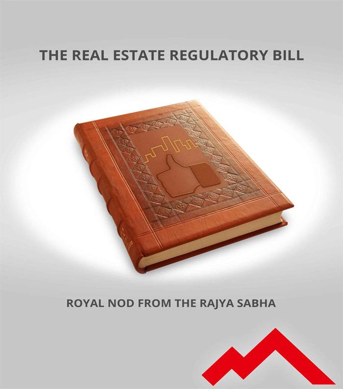 The Real Estate Regulatory Bill Royal Nod From The Rajya Sabha